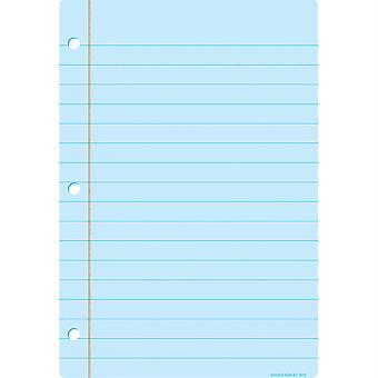 "Smart Poly Chart, 13"" X 19"", Papier portable bleu clair"