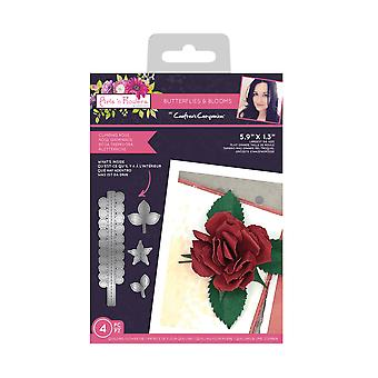 Crafter's Companion Butterflies and Blooms Metal Die Climbing Rose