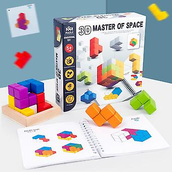 Square Block Children Education Wooden Cube Toys For Puzzle Making, Crafts And Diy Projects L02
