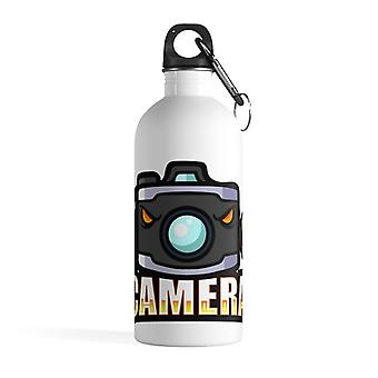 Camera mascot - Stainless steel water bottle
