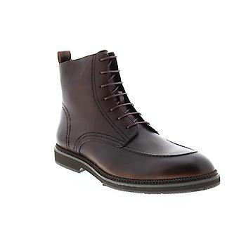 Zanzara Gaddi  Mens Brown Leather Casual Dress Boots