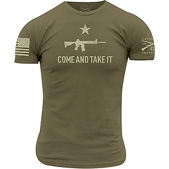 Grunt Style Come and Take It 2A Edition T-Shirt - Vert militaire