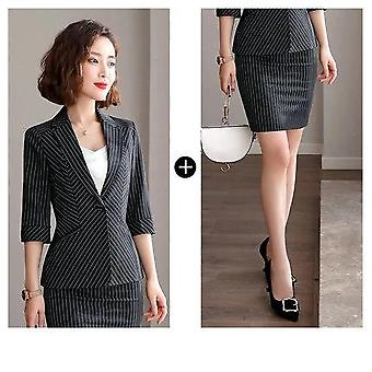 Summer Ladies Skirt Suit Set