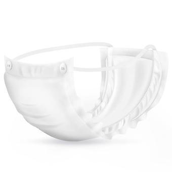 Serviettes hygiéniques menstruelles Absorbants Waterproof Pads (blanc Xl)