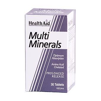 Multi-minerals 30 tablets