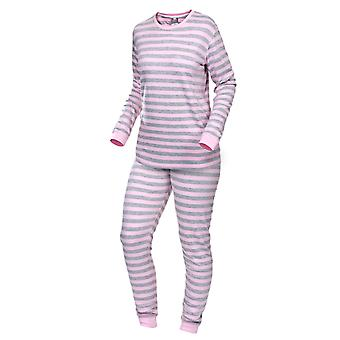 Trespass Womens/Ladies Roseanna Striped Base Layer Top And Bottoms Set