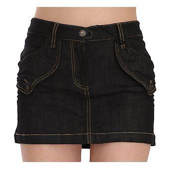 Denim Cotton Stretch Casual Mini Skirt