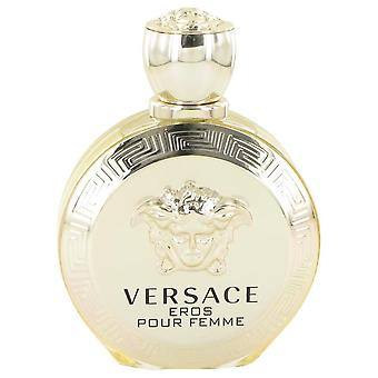 Versace Eros Eau De Parfum Spray (Tester) von Versace 3.4 oz Eau De Parfum Spray