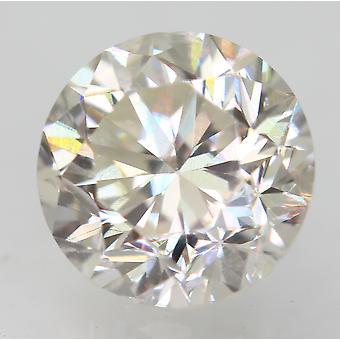 Zertifiziert 0.81 Karat G VVS2 Runde Brillant Verbessert natur Diamant 5.66mm 3VG