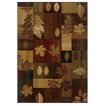 """22"""" x 32"""" Toffee Polypropylene Accent Rug"""