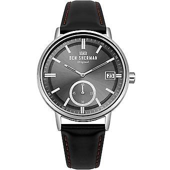 Reloj masculino Ben Sherman WB071BB, Cuarzo, 41mm, 3ATM