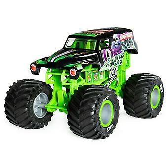 Hot wheels monster truck grave digger die-cast car 1:24 scale