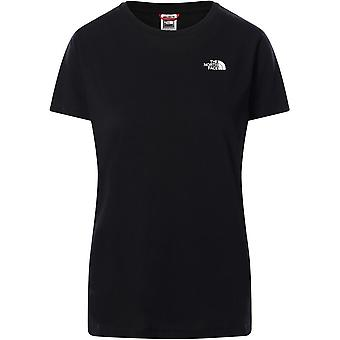 North Face Simple Dome T94T1AJK3 universell hele året kvinner t-skjorte