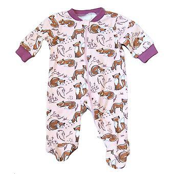 Piżama kombinezon z nogami, lisy 50 cl