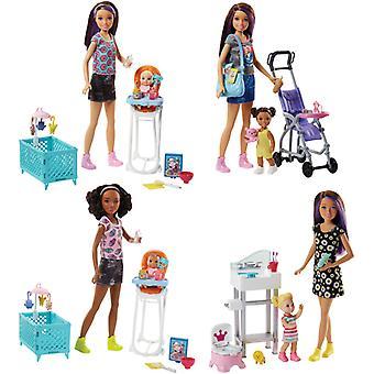 Barbie Sisters Babysitter Playset