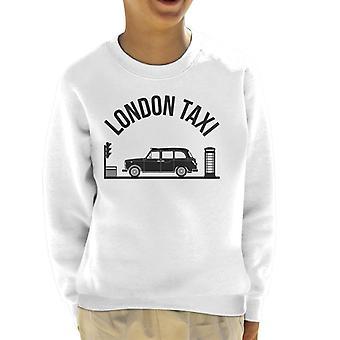 London Taxi Company TX4 på Traffic Lights Kid&s Sweatshirt