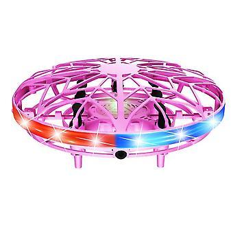 Usb şarj edilebilir aşınmaya dayanıklı rc drone led ışık mini hediye çocuklar yetişkinler kapalı açık oyuncak el kontrolü ufo uçan helikopter