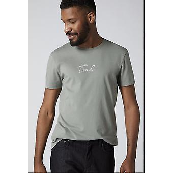 V2 Signatur grau T-shirt