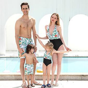 Family Mother-daughter Bikini Dresses
