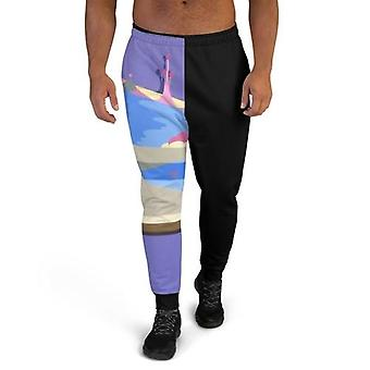 Men's Joggers With Matching Graphic T Shirts