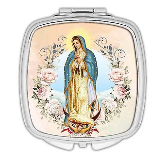 Gift Compact Mirror: Our Lady of Guadalupe Catholic