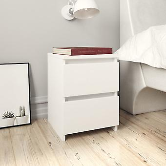 mesa de cabeceira vidaXL Branca 30×30×40 cm Chipboard