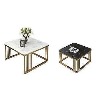 Marmurowe połączenie stolik kawowy