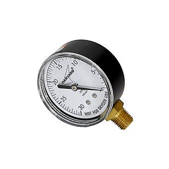 "American Granby IPCG3602-4LNL 0.25"" MPT Pressure Gauge"