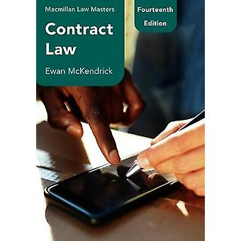 Contract Law Macmillan Law Masters