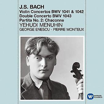 Bach / Menuhin, Yehudi - Violin Concertos - Chaconne [CD] USA import