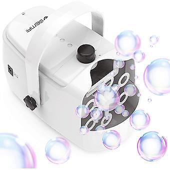 FengChun Seifenblasenmaschine, Seifenblasen Maschine Tragbare, Bubble Machine Angetrieben durch