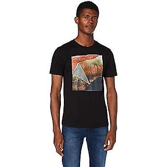 ボストミオ5 Tシャツ、ブラック(1)、Lマン