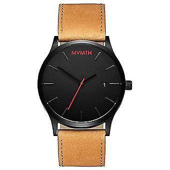 MVMT Analoog Horloge Herenkwarts met Lederen Band D-L213.5L.351