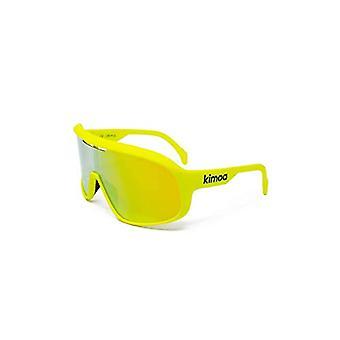 Kimoa Lab, Unisex Sports Glasses, Neon Yellow, Normal