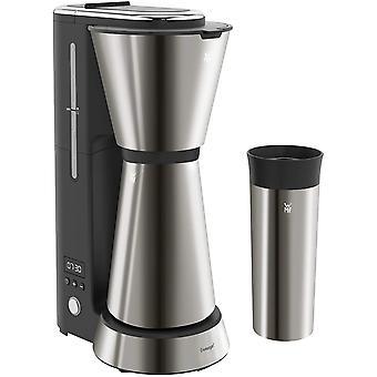 FengChun Küchenminis Aromafilterkaffeemaschine mit Thermoskanne, 870 Watt, Thermobecher to go,