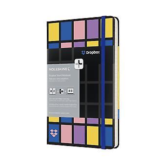 Moleskine Dropbox Connected Grote Geregeerde Hardback Smart Notebook