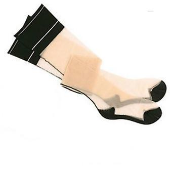 Patchwork Style Thigh High Medias Men Transparent Exotic Stocking