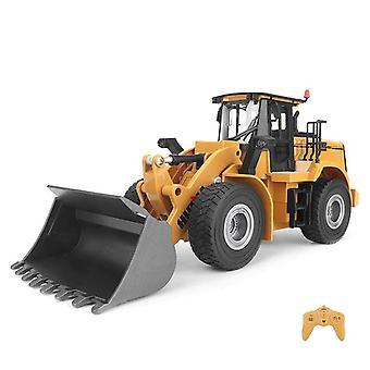 1:16 Rc Truck Loader Tractor Model Caterpillar 2.4G Radio Car Vehicle Toys per | Camion RC (Khaki)