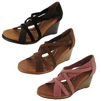 Lempeä sielut naisten glibber kiila sandaali kenkä