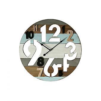 Rebecca Möbler Klocka Design Kök Klocka Mdf Analog Runda 50x50x4.5