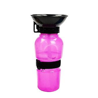 Pet σκύλος πόσιμο νερό μπουκάλι αθλητικά συμπίεση τύπου κουτάβι γάτα φορητό ταξίδι υπαίθρια πόσιμο νερό
