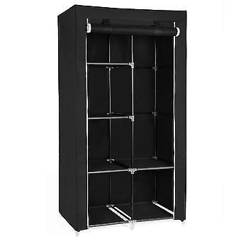 Herzberg Förvarings garderob - liten svart