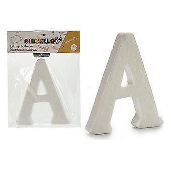Letter A polystyrene