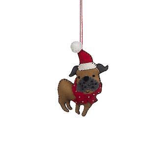 Shoeless Joe Pug Christmas Tree Decoration