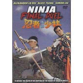 Ninja Final Duelo Película Dvd -Vd7580A