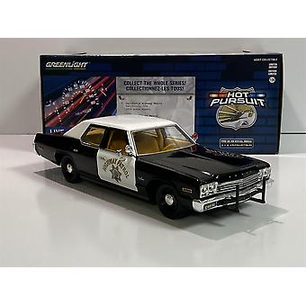 1974 Dodge Monaco California Highway Patrol 1:24 Scale Greenlight 85511