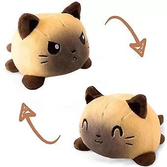 Söt Kitty Reversible Soft Toy Fyllda Djur katt