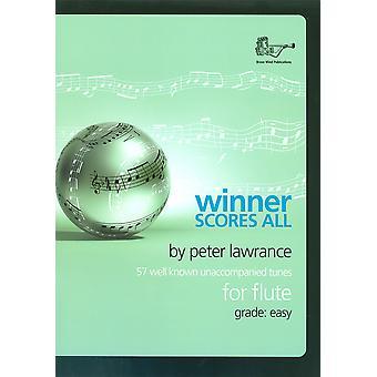 Vinnare poäng allt för flöjt - Lawrance (Flöjt unaccompanied)