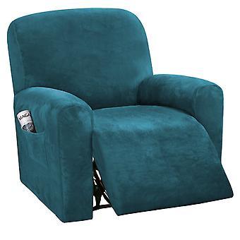 Sammets vilstol slipcovers spandex plysch furnitue lock deluxe lounge lock, hög stretch möbler skydd för vilstol, mörk kricka