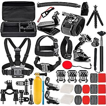 50-In-1for gopro accessories mount set for go pro hero 9 8 7 6 yi 4k mijia insta360 action camera gp6